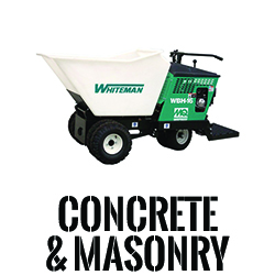 Concrete & Masonry Equipment